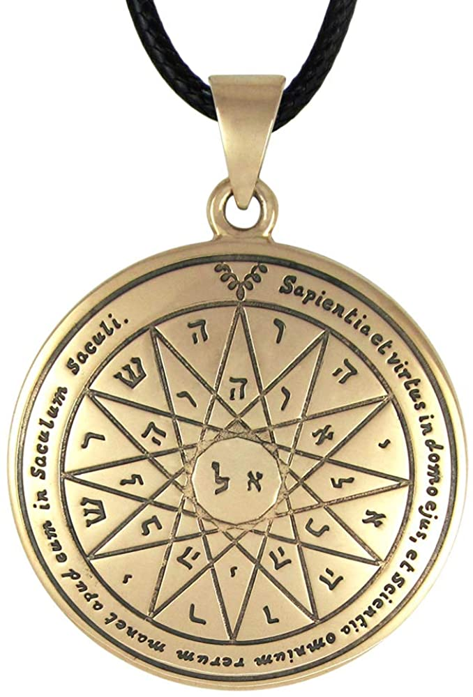Bronze Fourth Pentacle of Mercury Talisman for Knowledge