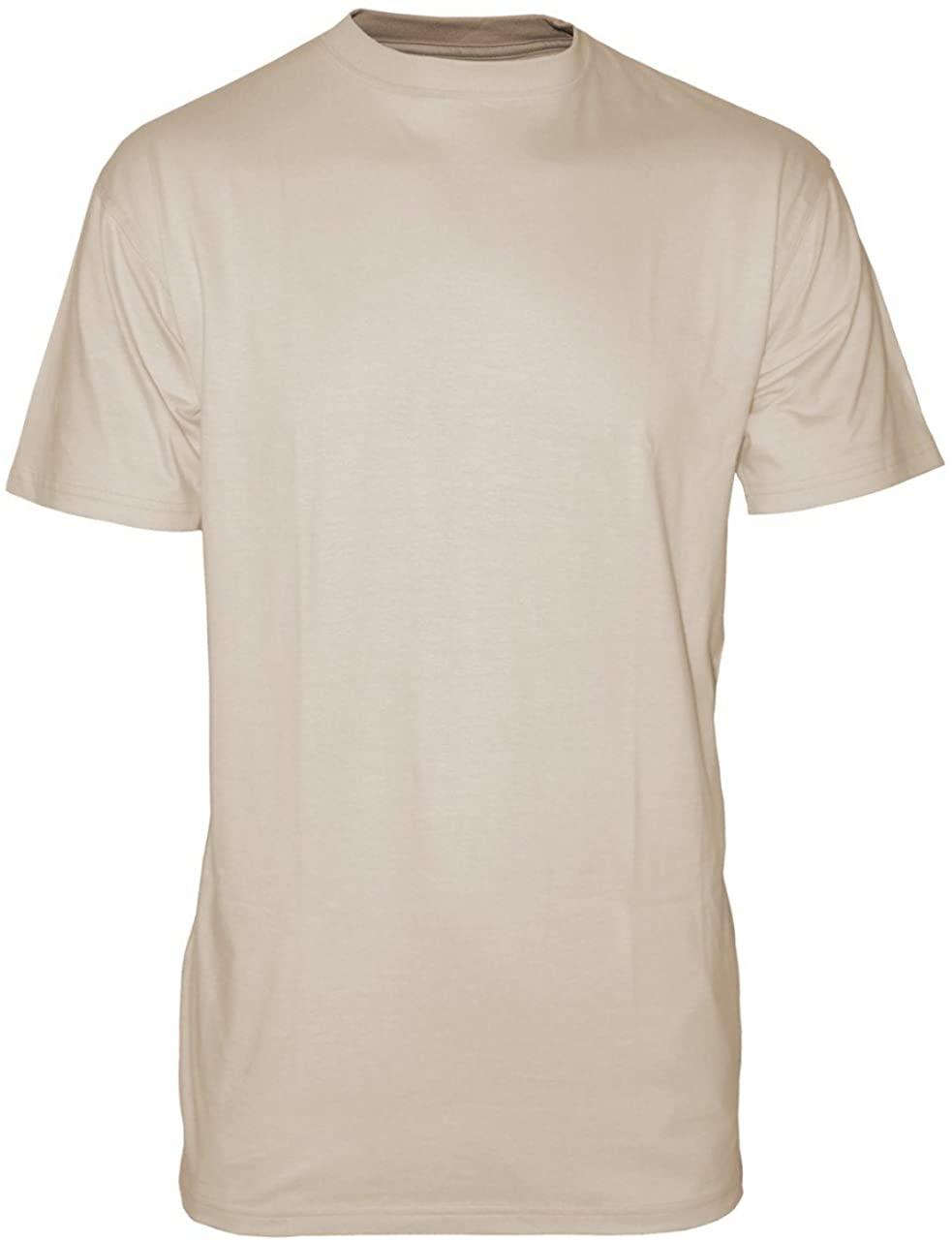 T-Shirt, NSN 8415-01-519-8788, X-LARGE, Tan (Sand), for ACU/ABU Uniform, 3-Pack