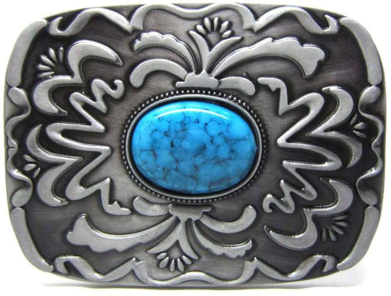 Design Western Cowboy Stones Belt Buckle With Stones For Mens Women Fashion Accessoreies Suitable For 4Cm Width Belt