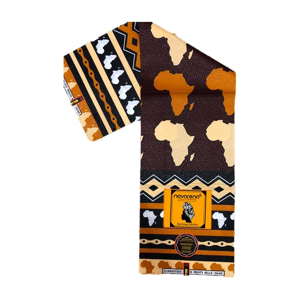Kente Ankara African Print Soft Headwraps Headband Long Hair Head Wrap Scarf Turban Tie Jersey Knit African head wraps (Ankara Print #4)