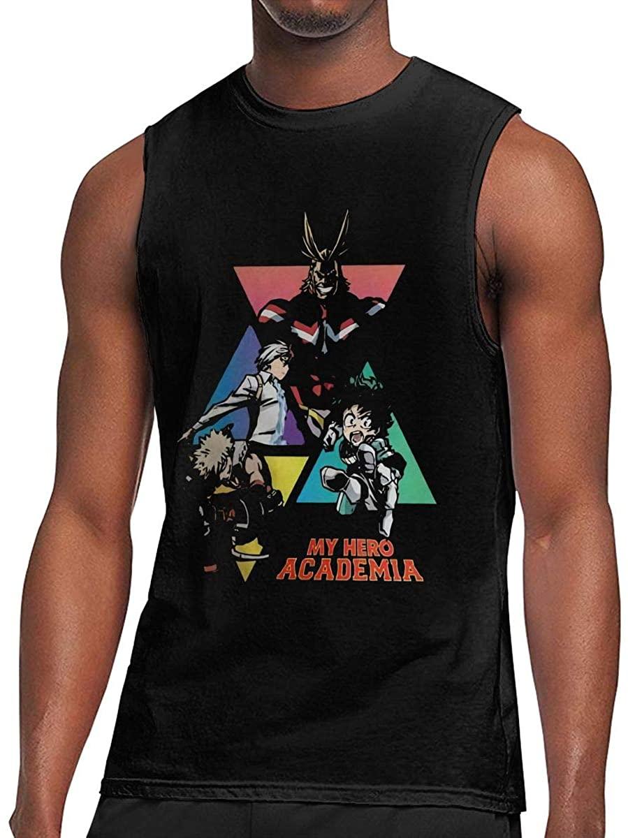 Academia Sleeveless T-Shirt Top Sports Men Show Perfect Muscles Lightweight Short Sleeves