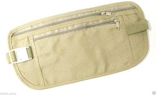Sport Travel Pouch Hidden Passport ID Holder Compact Security Money Waist Belt Bag