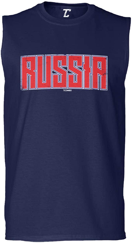 Russia - Russian Heritage Pride Men's Sleeveless Shirt