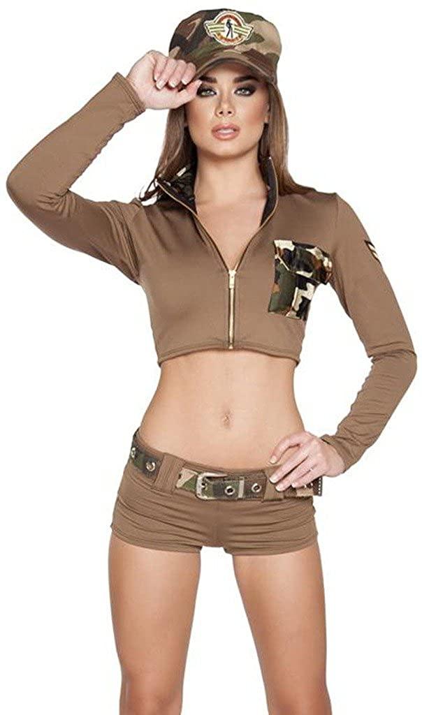 Adult Avatar Inspired US Corporal Halloween Costume