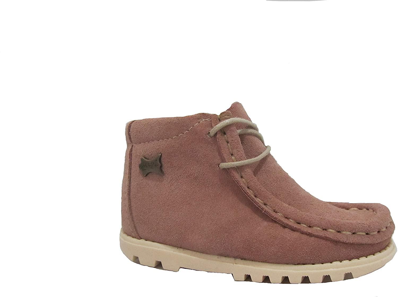 La Auténtica 705FP - Wallabee Boot Children Pink