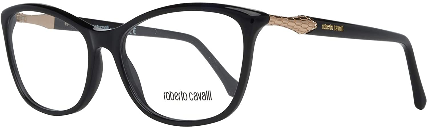 ROBERTO CAVALLI Eyeglasses RC0952 001 Shiny Black 54MM