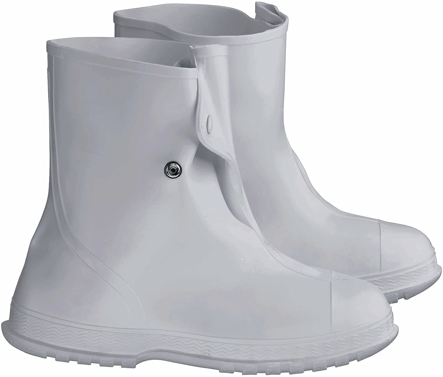 ONGUARD 81020 PVC Men's Overshoe with 4 Way Cleated Outsole, 10