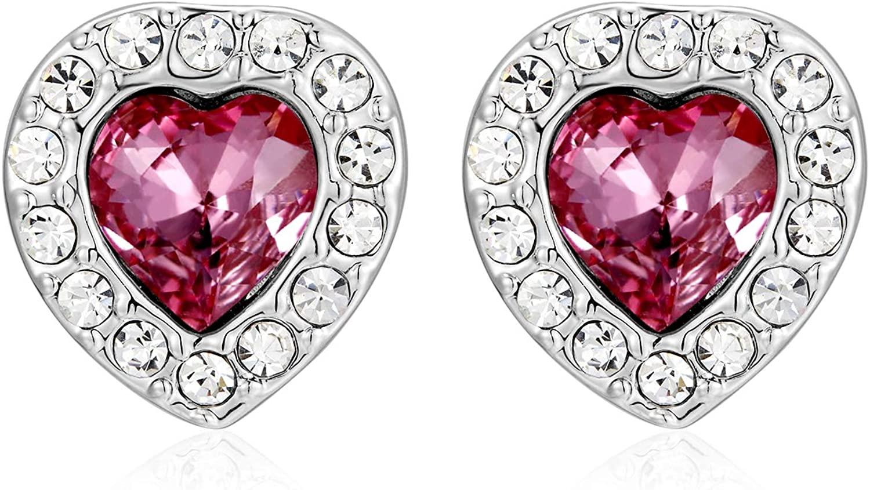 KRUCKEL I love you forever earrings made with Swarovski Crystal – 7041023