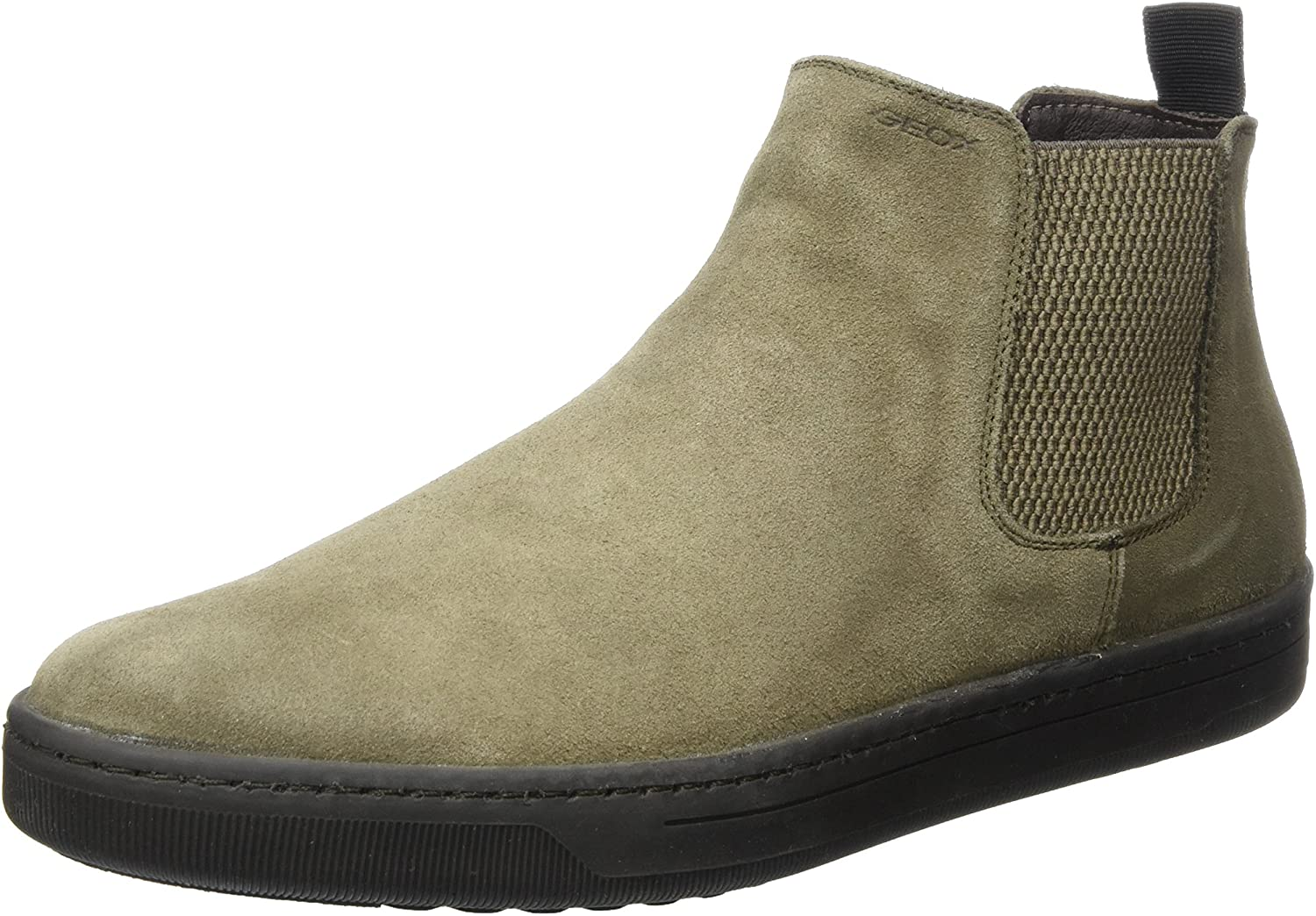 Geox Men's Chelsea Boots, Brown Taupe, 10 UK