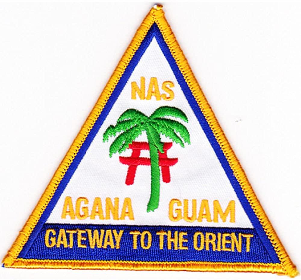 Naval Air Station Agana Guam Patch