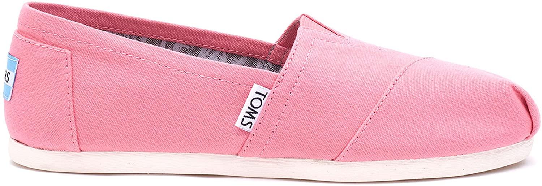 TOMS Women's Seasonal Classics Pink Lemonade Canvas Loafer 5 B (M)