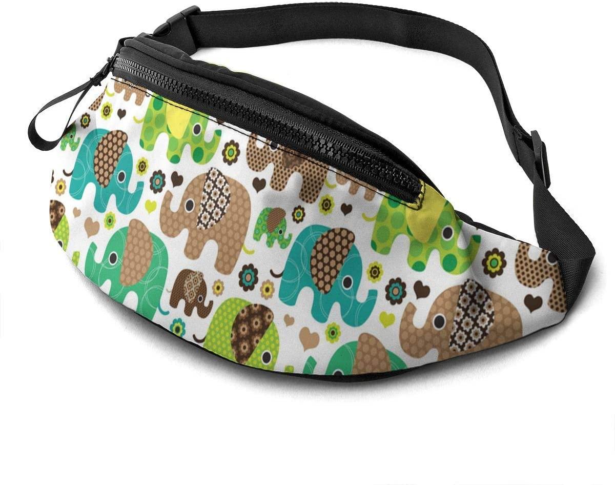Elephant Tribe Fanny Pack Fashion Waist Bag