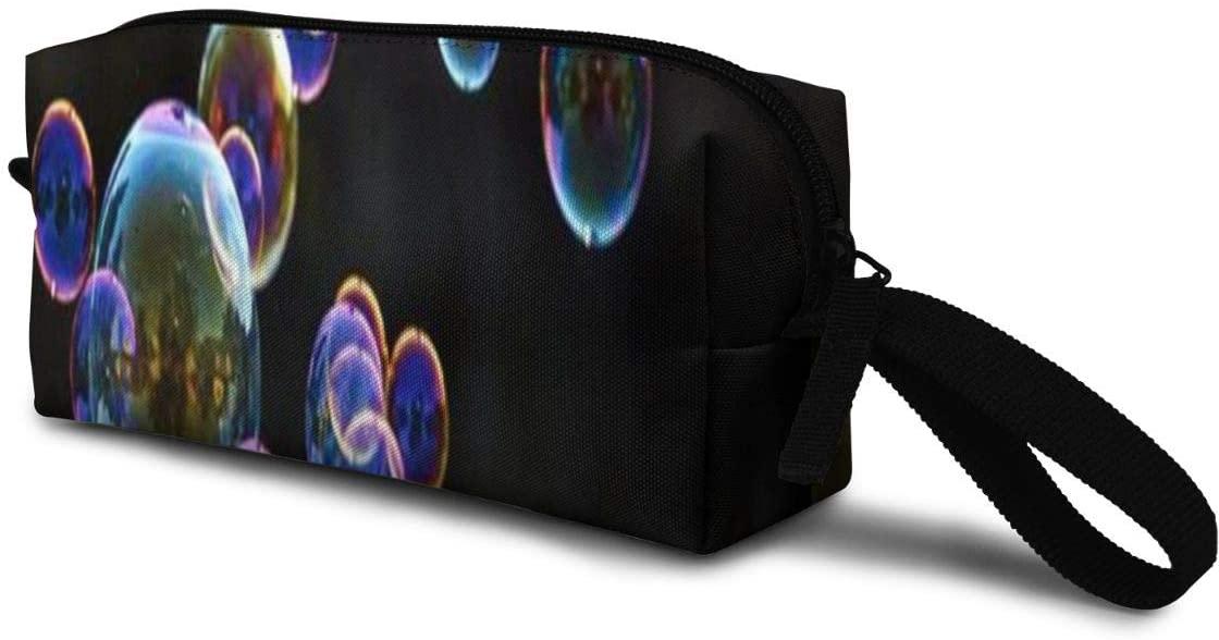 T-JH Bubble Mini Makeup Bag,Portable Cosmetic Bag,Organizer,Toiletry Handbag,Medicine Bag,Storage Pouch for Women Purse