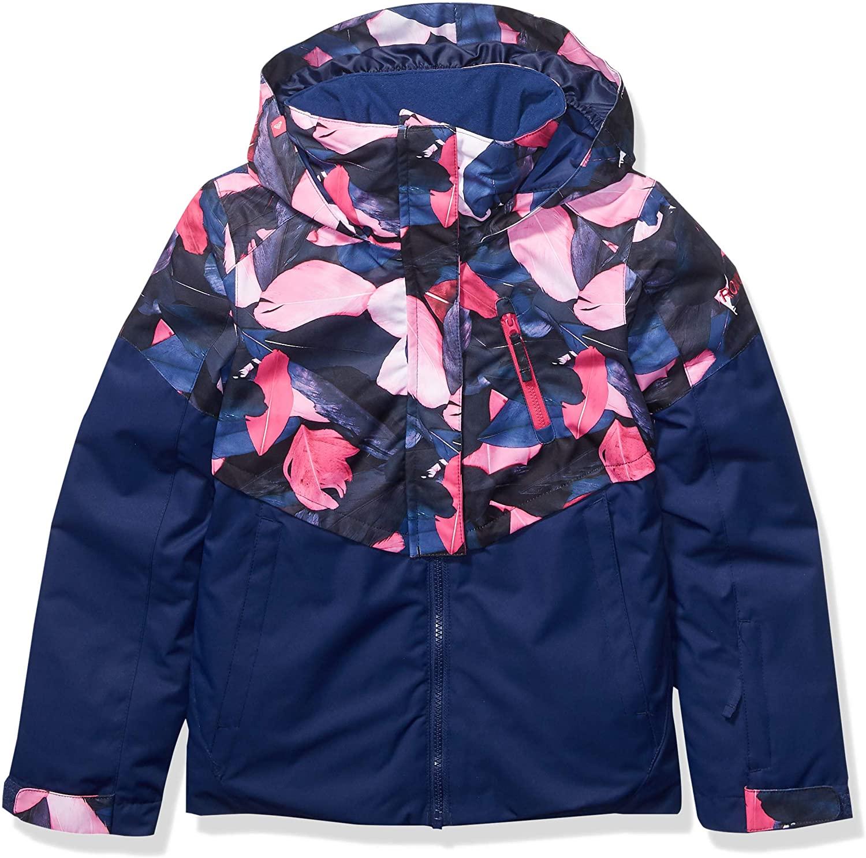 Roxy Girls Frozen Flow Snow Jacket for Girls 8-16 Ergtj03078