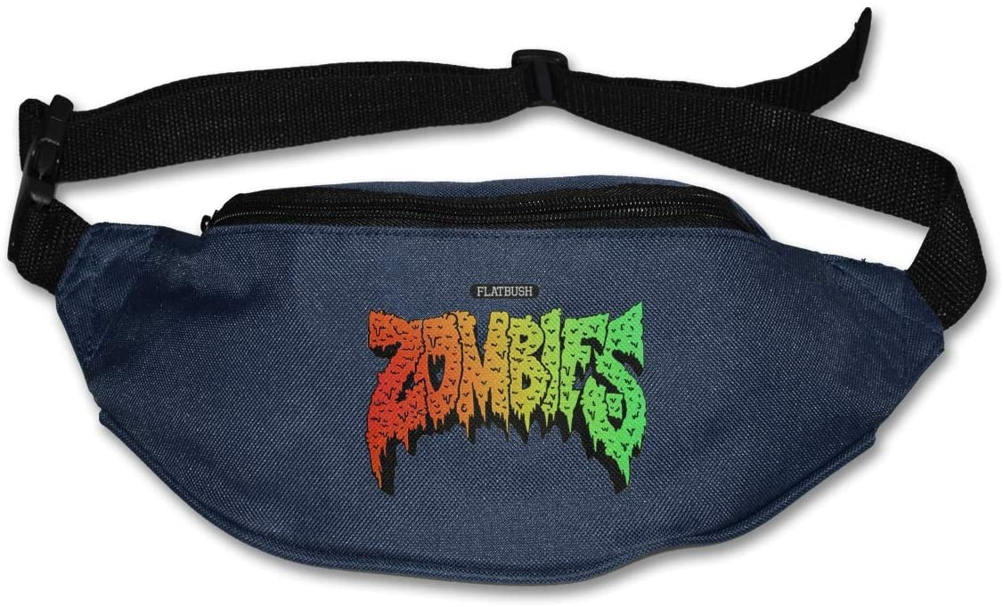 Ertregysrtg Flatbush Zombies Logo Runner's Waist Pack Fashion Sport Bag