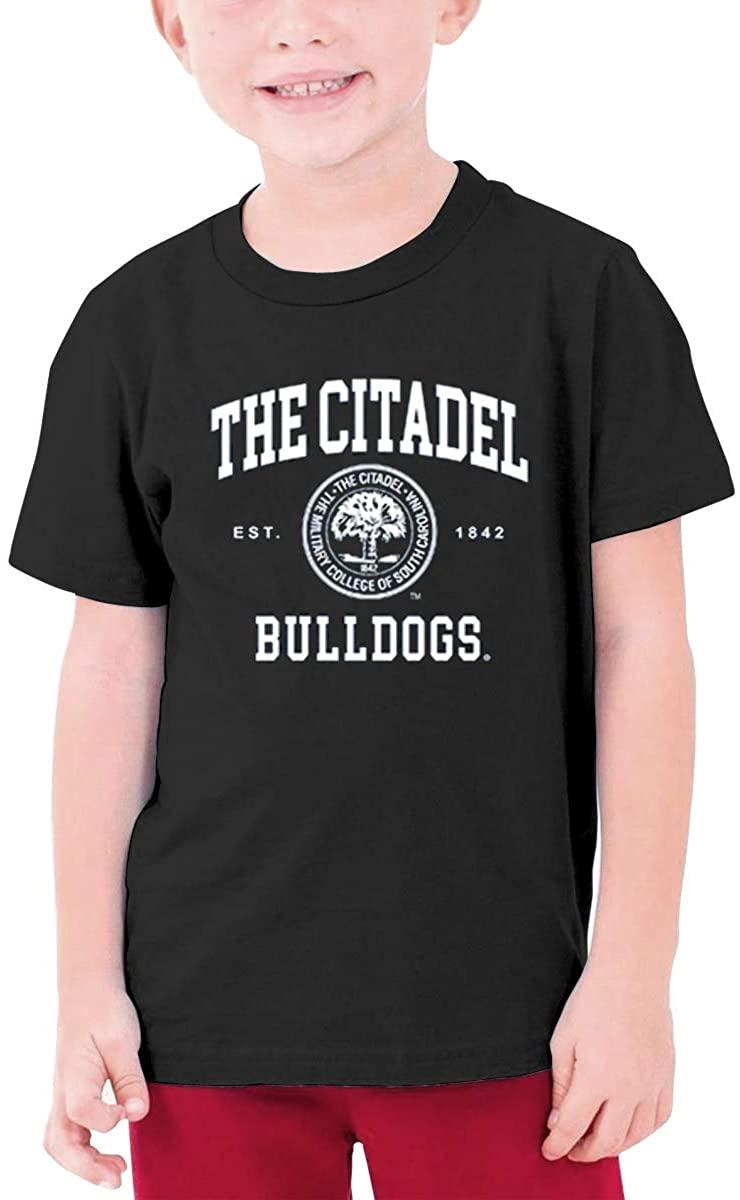 FELA The Citadel Bulldogs Seal Unisex Youth T-Shirt Boys Girls T-Shirt