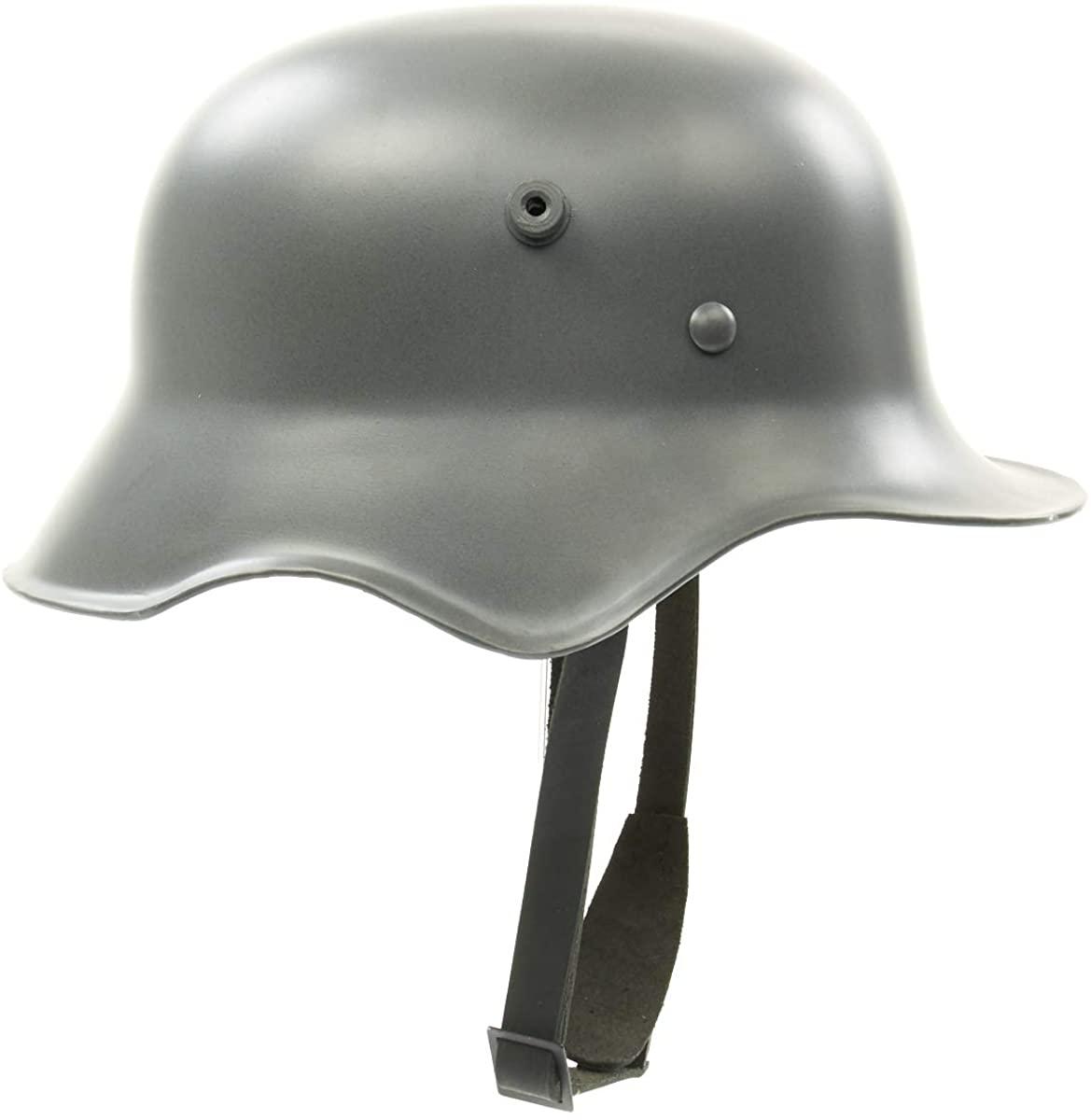 German WWI M18 Steel Helmet with Leather Liner