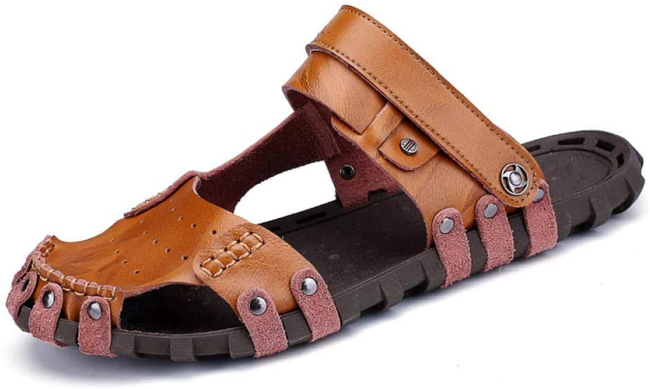 sandals Men's outdoor casual sandals sandals comfortable soft handmade leather shoes