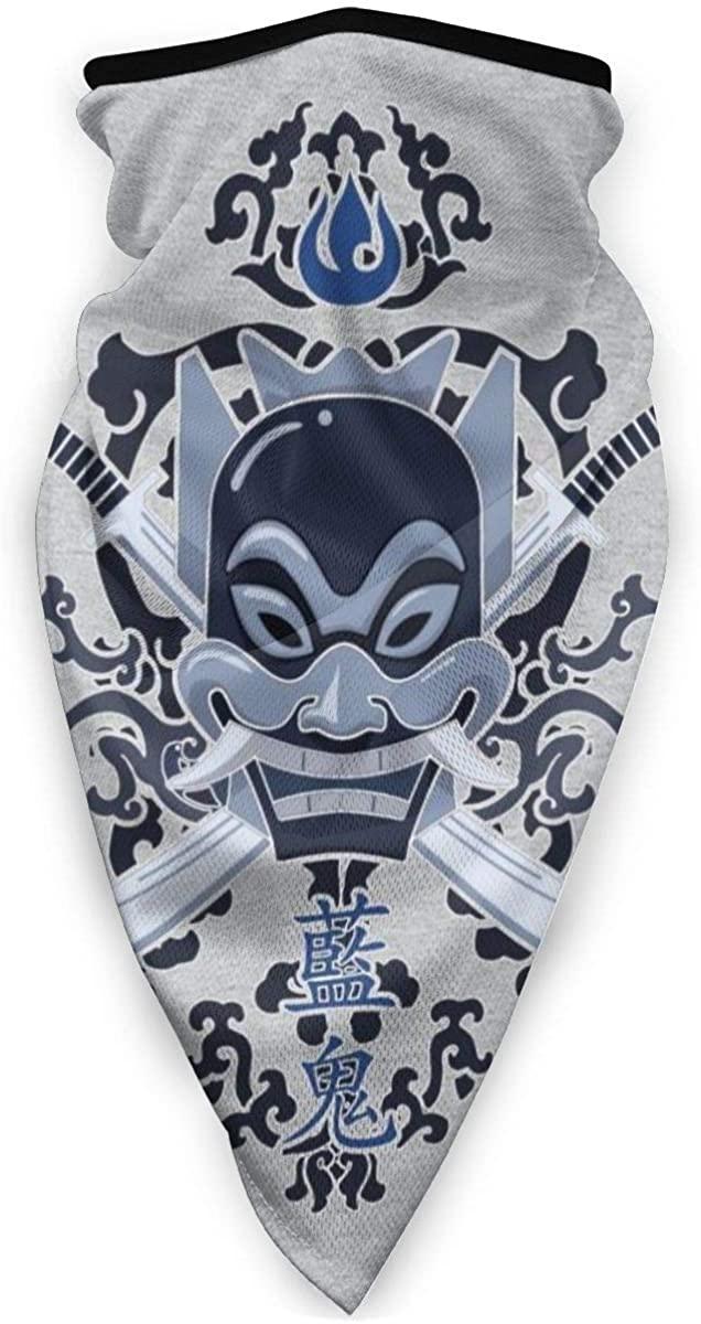 Avatar Last Airbender Blue Spirit Face Mask Bandanas for Dust, Outdoors, Festivals, Sports