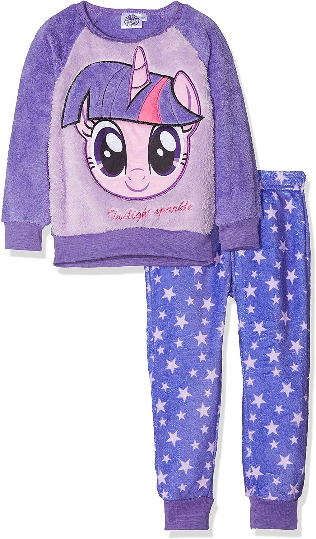 My Little Pony Girl's Winter Fleece Pajama Set