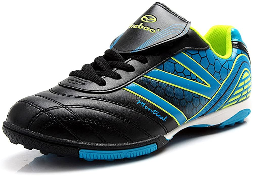 Tiebao Men's Hard Ground IC Athletic Soccer Pu Leather Football Shoes