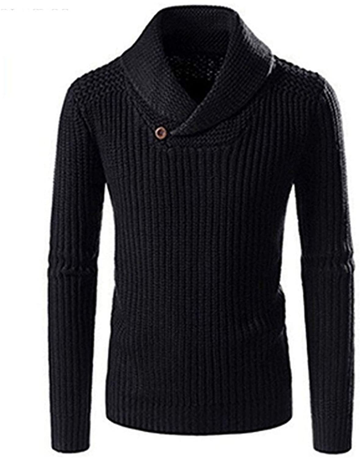 OH WHY Knitted Sweaters Men Turtleneck Pullovers Sueters Autumn Winter Slim Fit Basic Knitwear Clothes