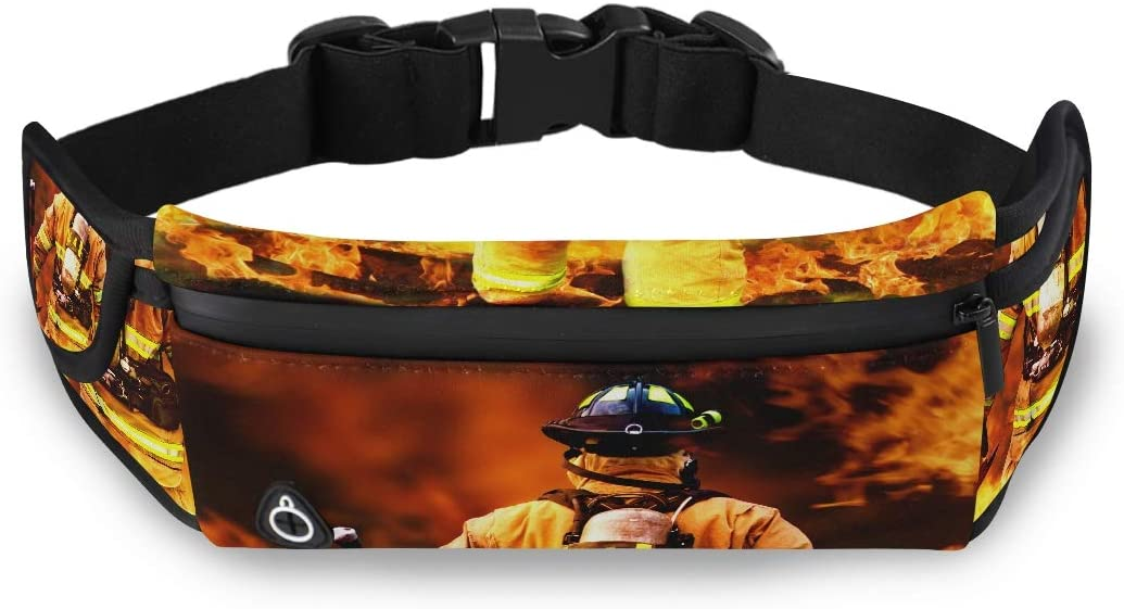 In To The Fire A Firefighter Searches For Possibl Toddler Fashion Bag Men Waist Pack Mens Fanny Packs Waist Pack With Adjustable Strap For Workout Traveling Running