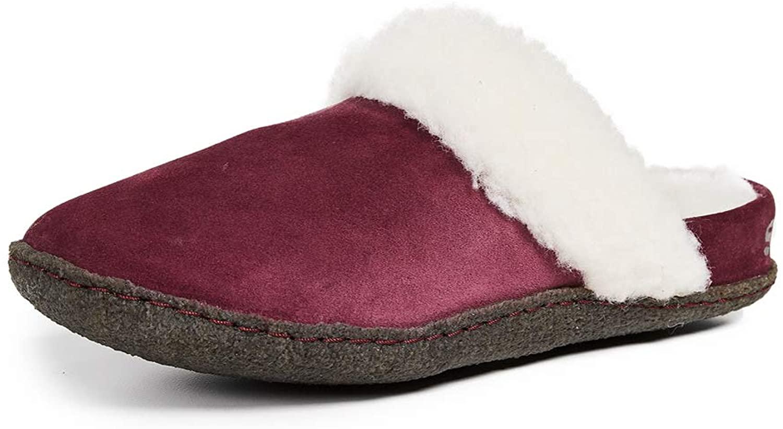 Sorel Women's Nakiska Slide II Slippers, Rich Wine, Red, 6 M US