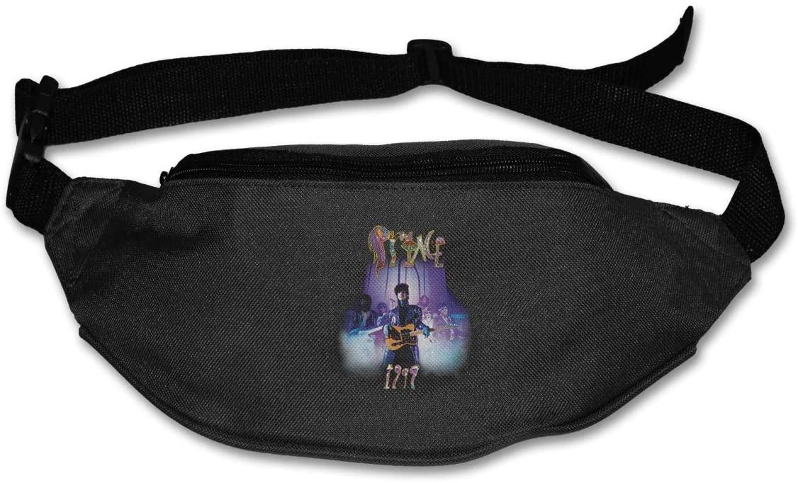 Ertregysrtg Prince 1999 Smoke Runner's Waist Pack Fashion Sport Bag
