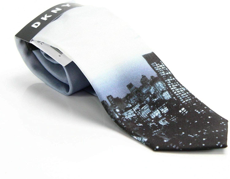 DKNY Men's Photo Realistic Skyline Tie
