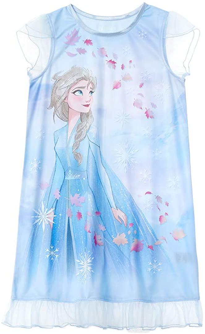 Disney Girls Frozen Elsa Dorm Nightgown