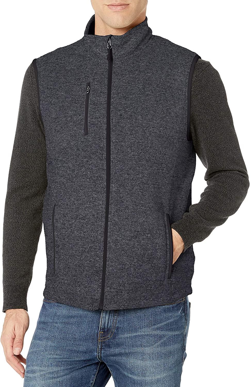 Charles River Apparel Men's Pacific Sweater Fleece Vest