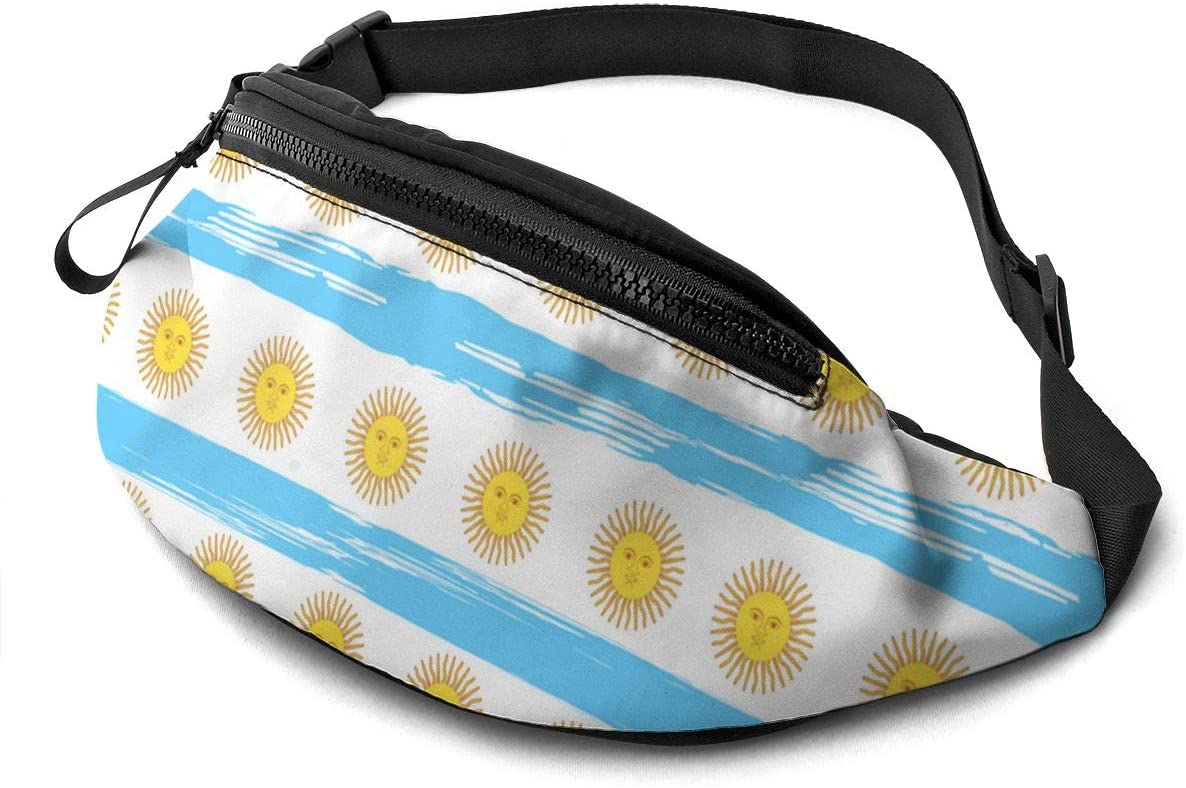 Argentina Day Sun Fanny Pack Fashion Waist Bag