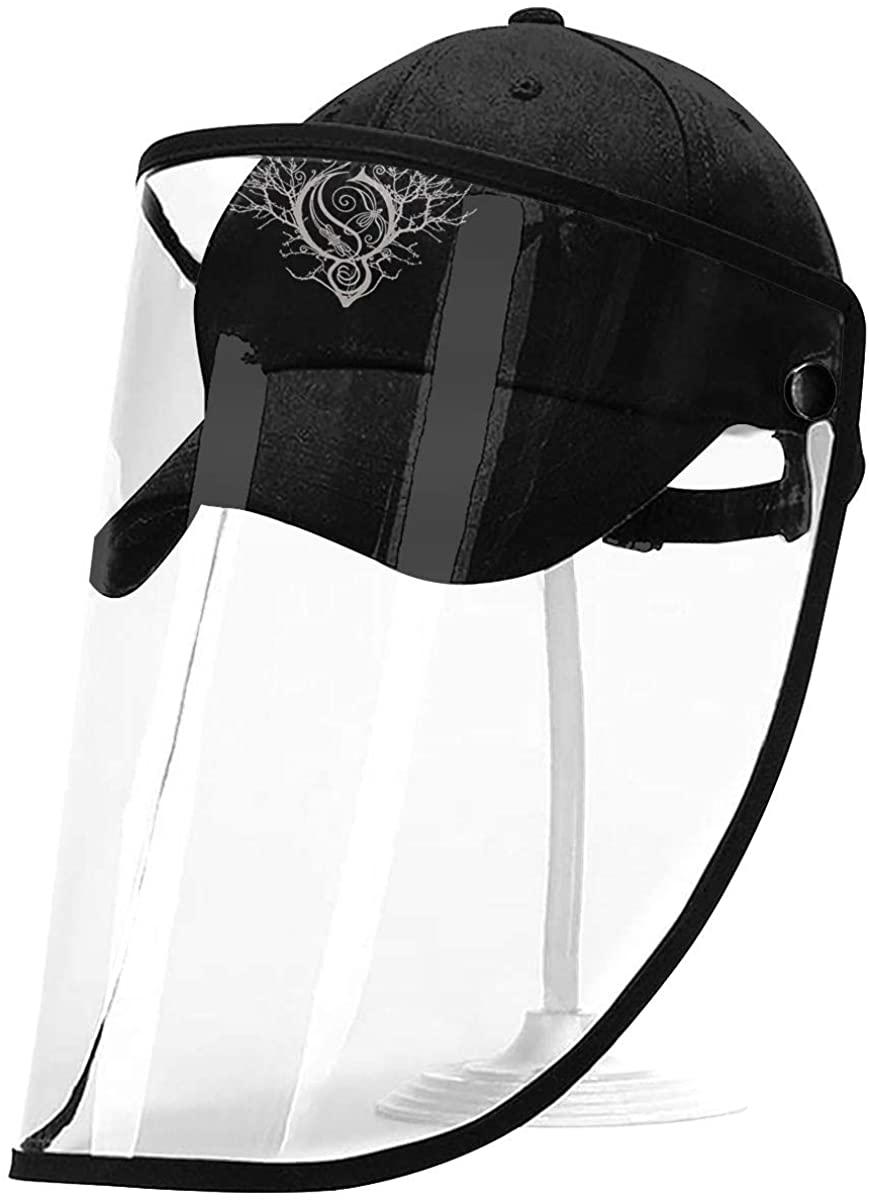 Lshbest Opeth Unisex Adjustable Detachable Protective Hat Outdoor Sunscreen Caps