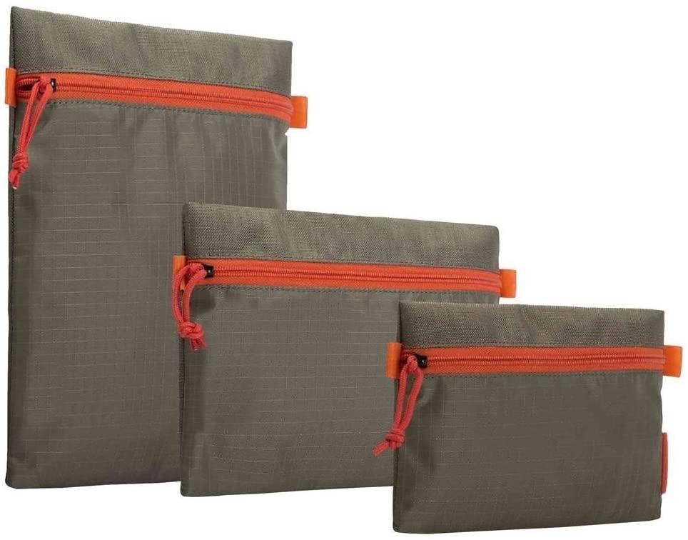 Crumpler Crumpler Zippie Set ZIP-SET-003 Reise Organizer Dokumententasche Ausweistasche Brieftasche beige Passport Wallet, 28 cm, Orange (Golden Weed/Orange)