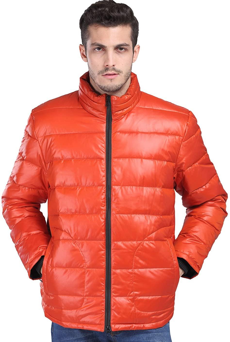 fashciaga Men's White Duck Down Puffer Jacket