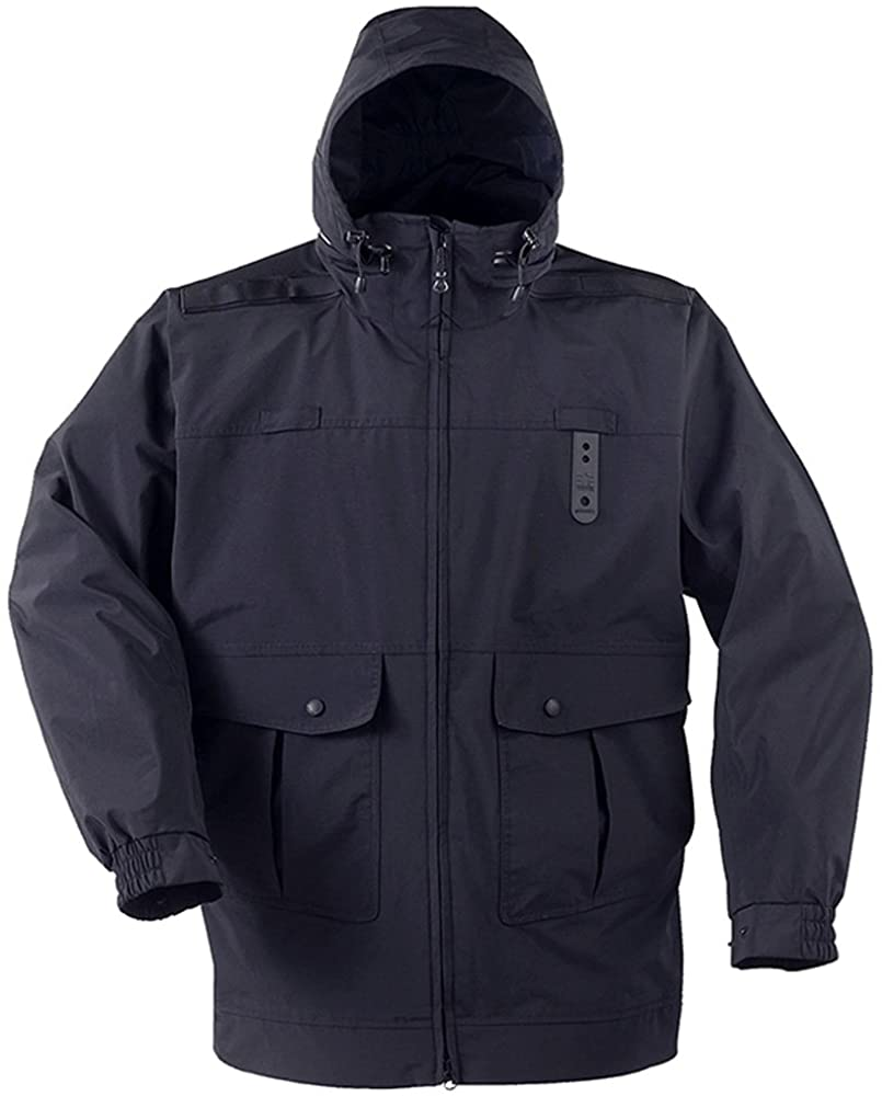 Propper Defender Mens Gamma Long Rain Duty Jacket with Drop Tail