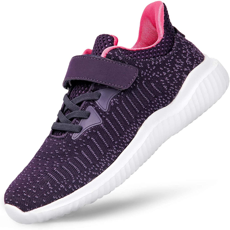 Alibress Kids Sneaker for Boys Girls Breathable Lightweight Athletic Running Shoes