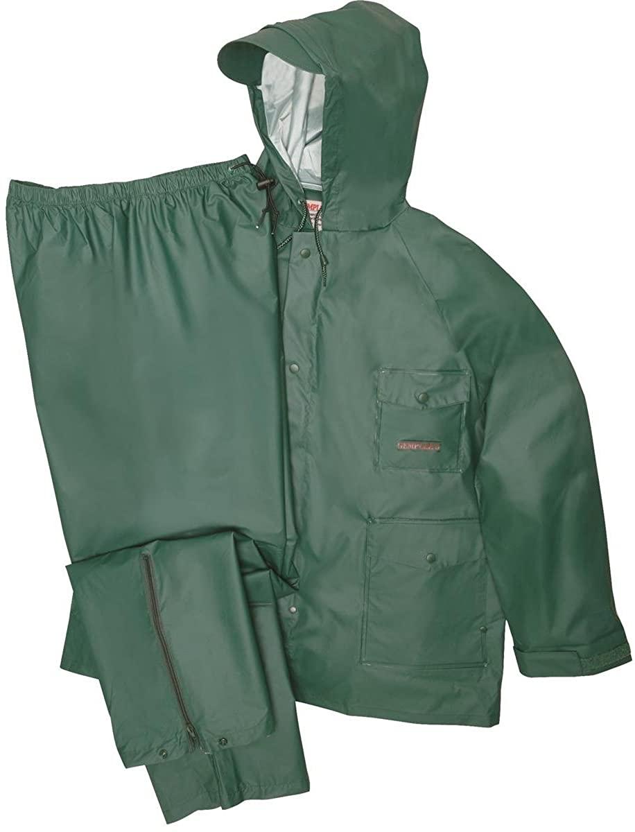 Gempler's Premium Quality Durable Rain Jacket and Pants Waterproof Rain Suit