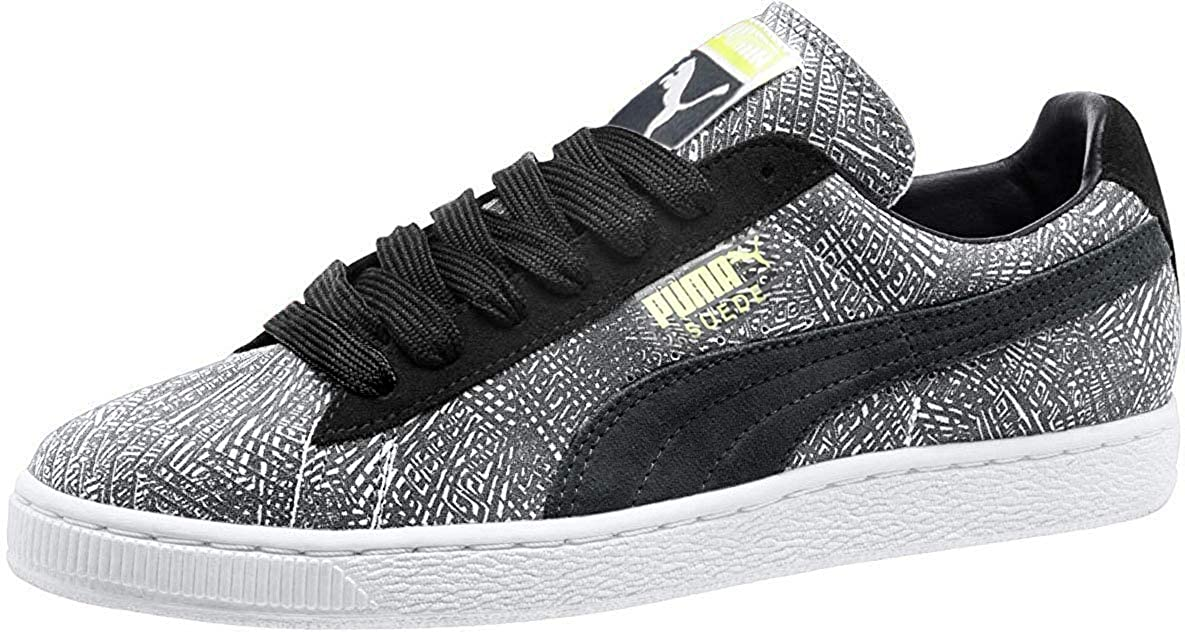 PUMA Men's Mis-Match Suede Ankle-High Fashion Sneaker