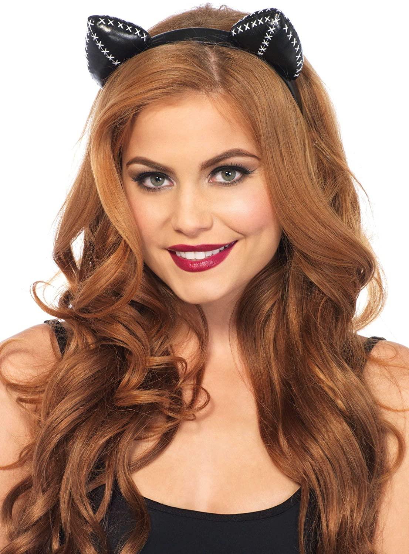 Leg Avenue Stitch Kitty Ear Headband