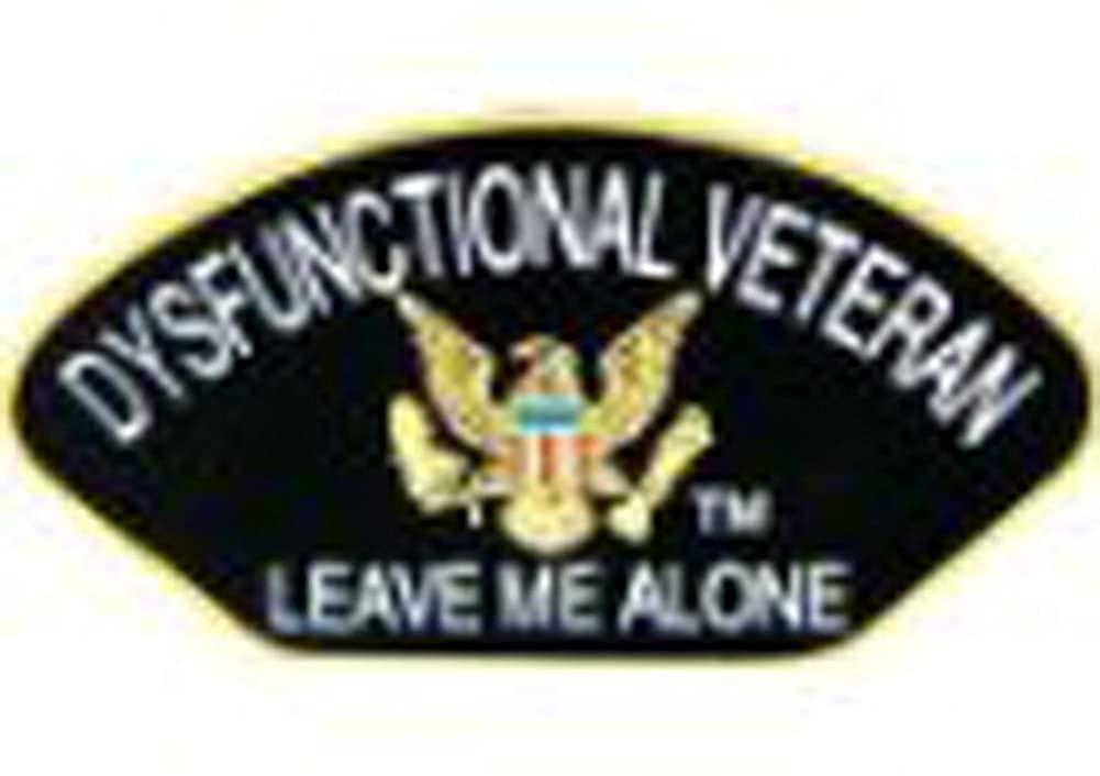 Dysfunctional Veteran Small Pin
