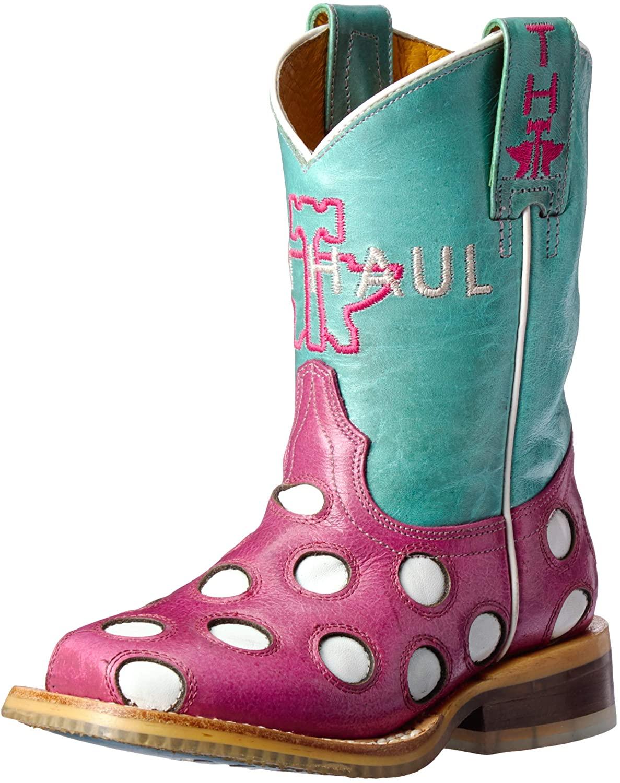 Tin Haul Shoes Kids' Little Miss Dotty Western Boot