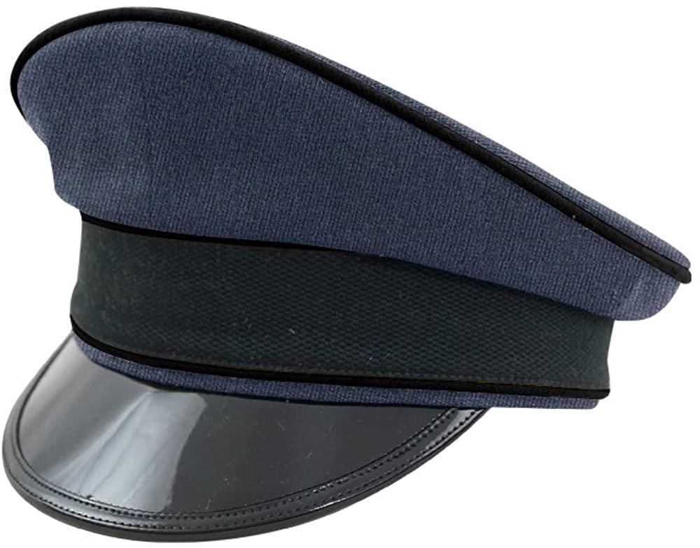 WW2 German Luftwaffe Air Ministry blue Gabardine Visor cap