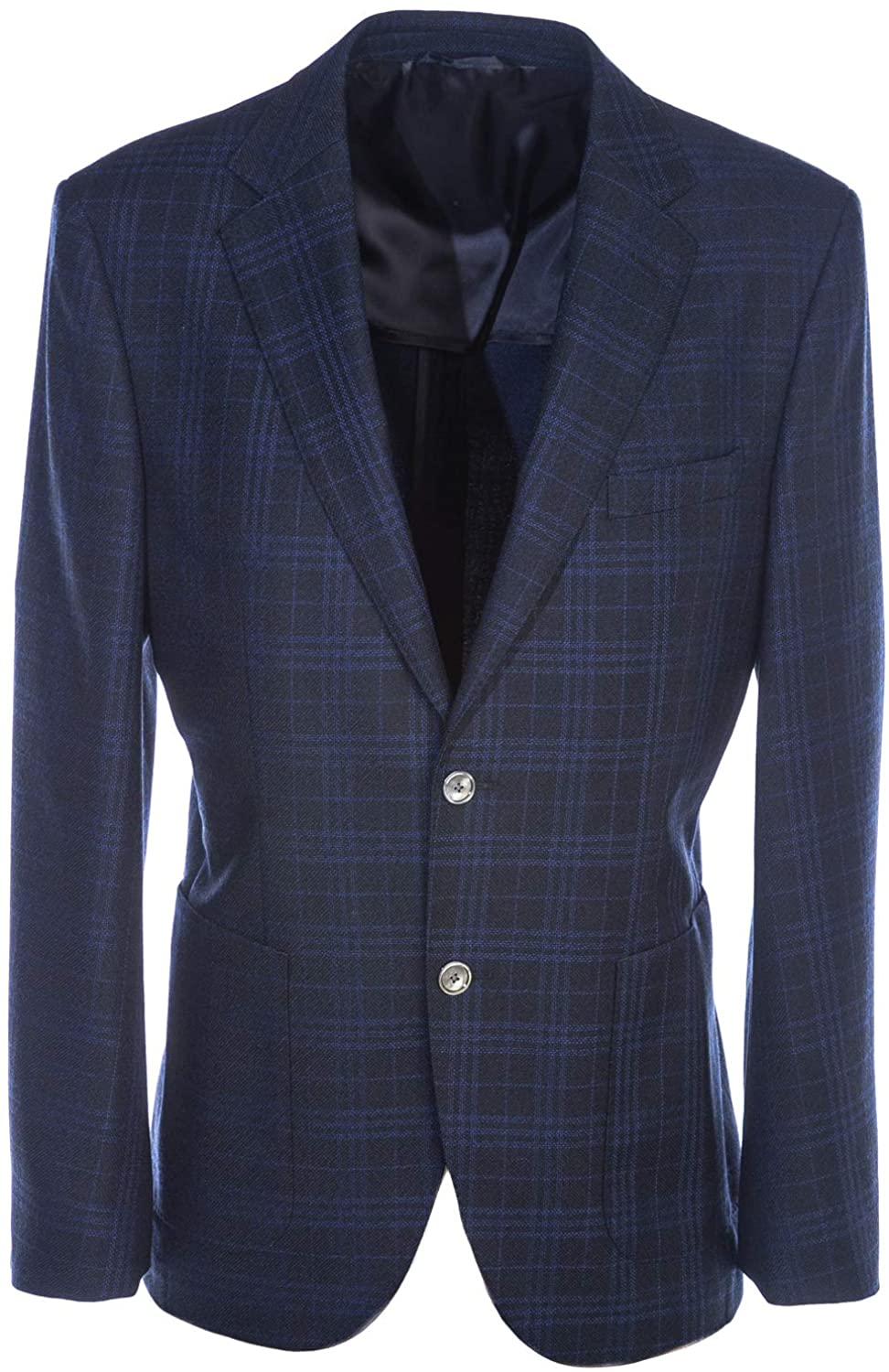 BOSS Janson Jacket in Navy Check