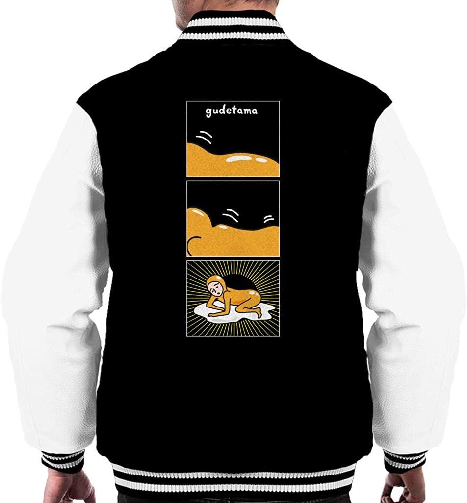 Gudetama Nisetama San Yolk Mens Varsity Jacket