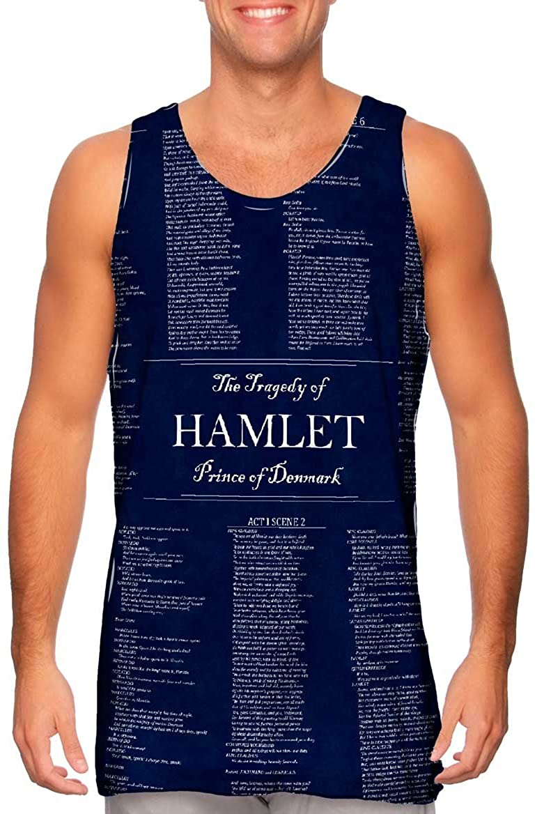 Yizzam- William Shakespeare Literature .-Tshirt- Mens Tank Top 2182