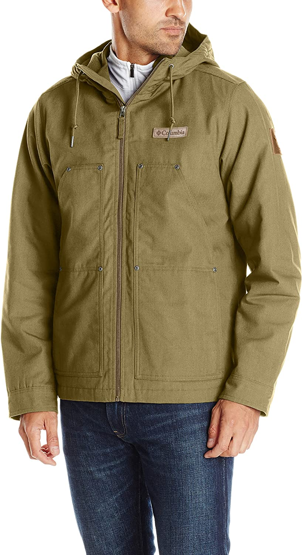 Columbia Mens Loma Vista Fleece-Lined Hooded Jacket