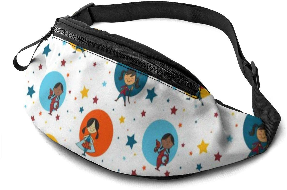 Casual Waist Bag Girls' Playtime Waist Pack Fashion Belt Bags