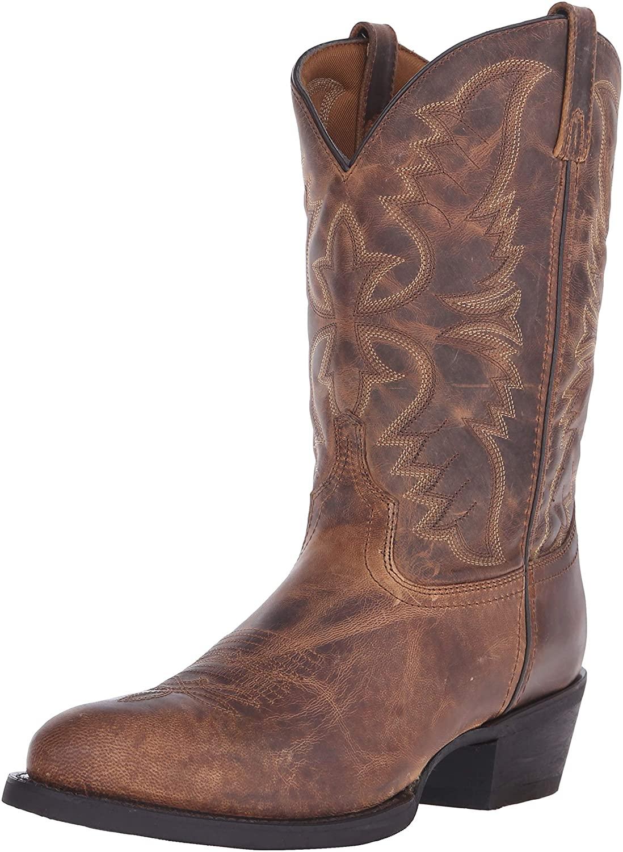 Laredo Men's Birchwood Leather Mid-Calf Boot
